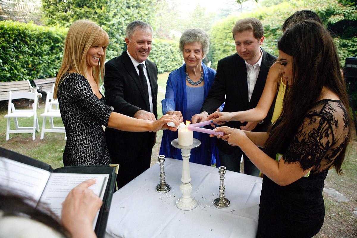 Blue Mountains Wedding Celebrant Candle Unity Ceremony