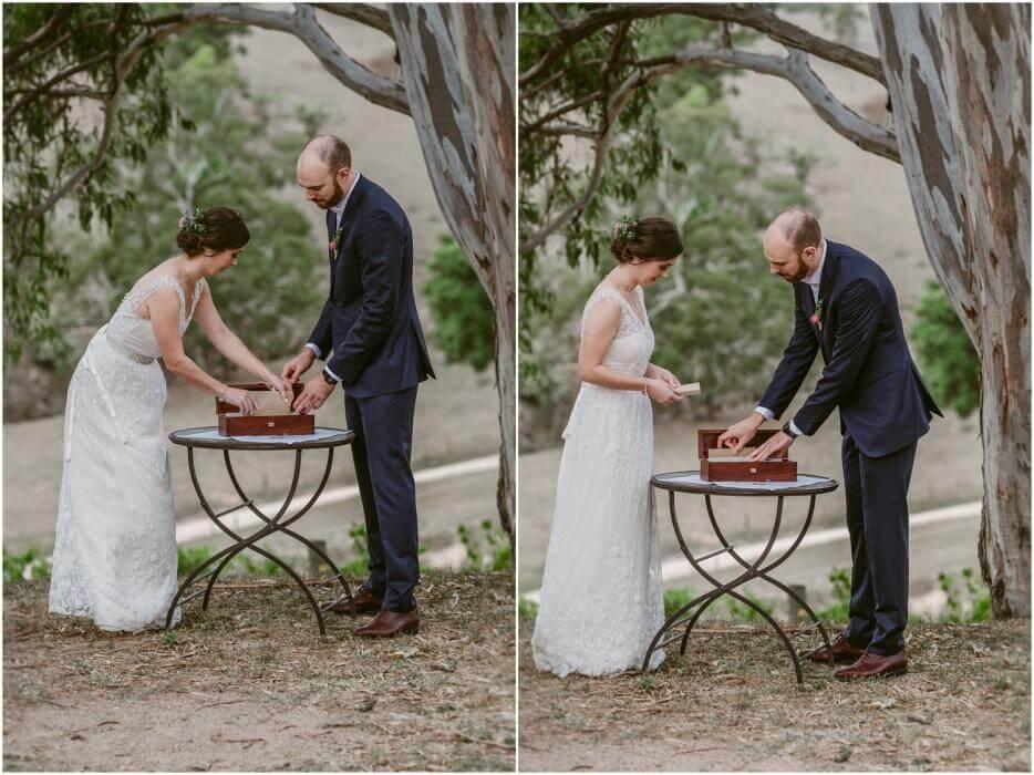 Winebox ceremony