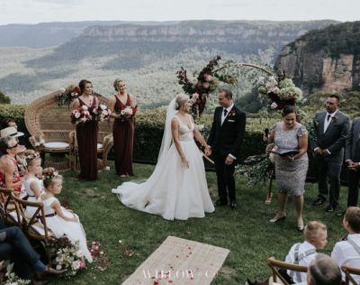 Wedding Blue Mountains 57