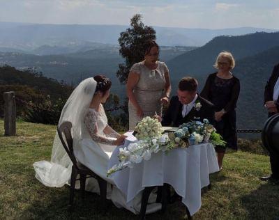 Wedding Celebrant Blue Mountains 23